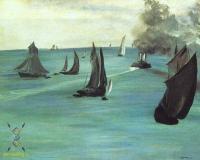 Море в живописи ( морские пейзажи, seascapes ) - в Сант Адрес