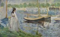 Edouard Manet - На берегу Сенны возле Аржантей
