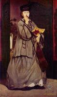 Edouard Manet (Эдуард Мане) - Уличная певица