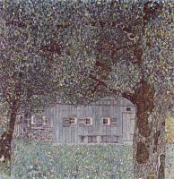 Деревенский дом :: Густав Климт
