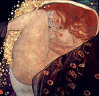 Gustav Klimt - Даная