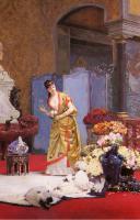 Цветы и натюрморты - картины художников прошлых веков - Цветы осени
