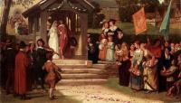 Цветы и натюрморты - картины художников прошлых веков - Путь из роз