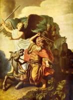 Rembrandt - ослица Валаама