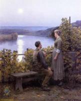 Романтические сюжеты в живописи - Летний вечер