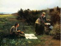 Романтические сюжеты в живописи - Завтрак медового месяца