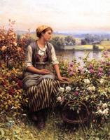 Цветы и натюрморты - картины художников прошлых веков - В мечтах