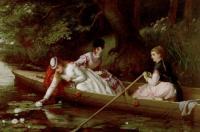 Цветы и натюрморты - картины художников прошлых веков - Лилии Темзы