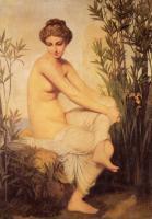 Картины ню, эротика в шедеврах живописи - Античная купальщица