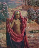 Картины ню, эротика в шедеврах живописи - Купание при звёздах