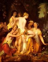 Картины ню, эротика в шедеврах живописи - Купание Венеры