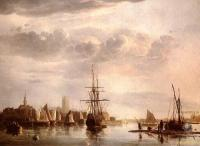 Море в живописи ( морские пейзажи, seascapes ) - Вид на Дордрехт
