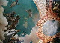 Античная мифология - Роспись потолка на вилле Гермес