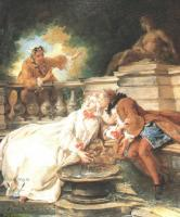 Романтические сюжеты в живописи - Тревога поднятая служанкой
