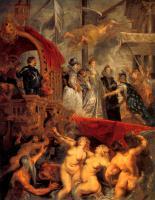 Peter Paul Rubens - Прибытие Марии Медичи в Марсель