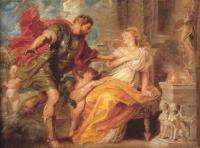 Peter Paul Rubens - Марс и Рея Сильвия