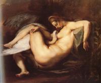 Peter Paul Rubens - Леда и Лебедь