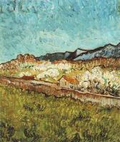 Van Gogh - Вид на горы