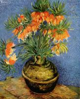 Van Gogh - Натюрморт с императорскими коронами в бронзовой вазе