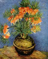 Van Gogh (Ван Гог) - Натюрморт с императорскими коронами в бронзовой вазе