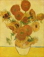 Van Gogh (Ван Гог) - Натюрморт с подсолнухами в вазе