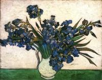 Van Gogh - Ирисы в вазе