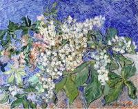 Van Gogh - цветущие каштановые ветви