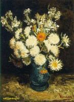 Van Gogh - Цветы в голубой вазе