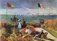 Claude Monet - Терраса в Сент-Адрес