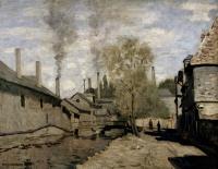 пейзаж < Речка Робек в Руан > ::  Клод Моне ( Франция )