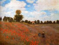 Claude Monet - Поле с маками возле Аржантей