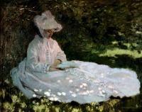 Claude Monet - Чтица