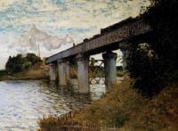 Claude Monet - Железнодорожный мост в Аржантей