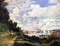 Моне Клод (Claude Monet) - Залив на Сене близ Аржантея