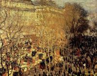 Claude Monet - Бульвар Капуцинок в Париже