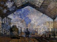 Моне Клод (Claude Monet) - Вокзал Сен-Лазар