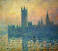 Claude Monet - Парламент эффект наступающего заката