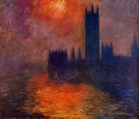 Claude Monet - Эффект заката II