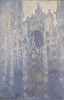 Моне Клод (Claude Monet) - Руанский собор, портал и башня Сен-Ромен: эффект утра