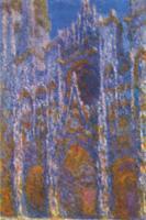 Моне Клод (Claude Monet) - Руанский собор ( гармония в голубом )