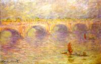 Claude Monet - Мост Ватерлоо
