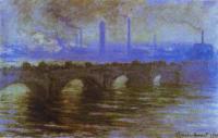 Мост Ватерлоо :: Клод Моне ( Франция )