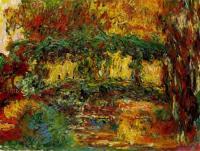 Claude Monet - Японский мостик