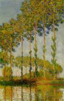 Моне Клод (Claude Monet) - Тополя на реке Эпте, Осень