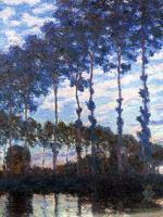 Тополя на реке :: Клод Моне ( Claude Monet )