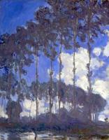Тополя на берегу :: Клод Моне ( Claude  Monet )