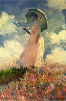 Женщина с зонтиком. Этюд :: Клод Моне ( Франция )