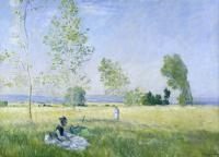 картина Весна :: Клод Моне