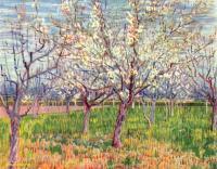 Van Gogh - цветущий плодовый сад