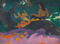 Гоген Поль ( Paul Gauguin ) - Возле моря (Fatata te miti)
